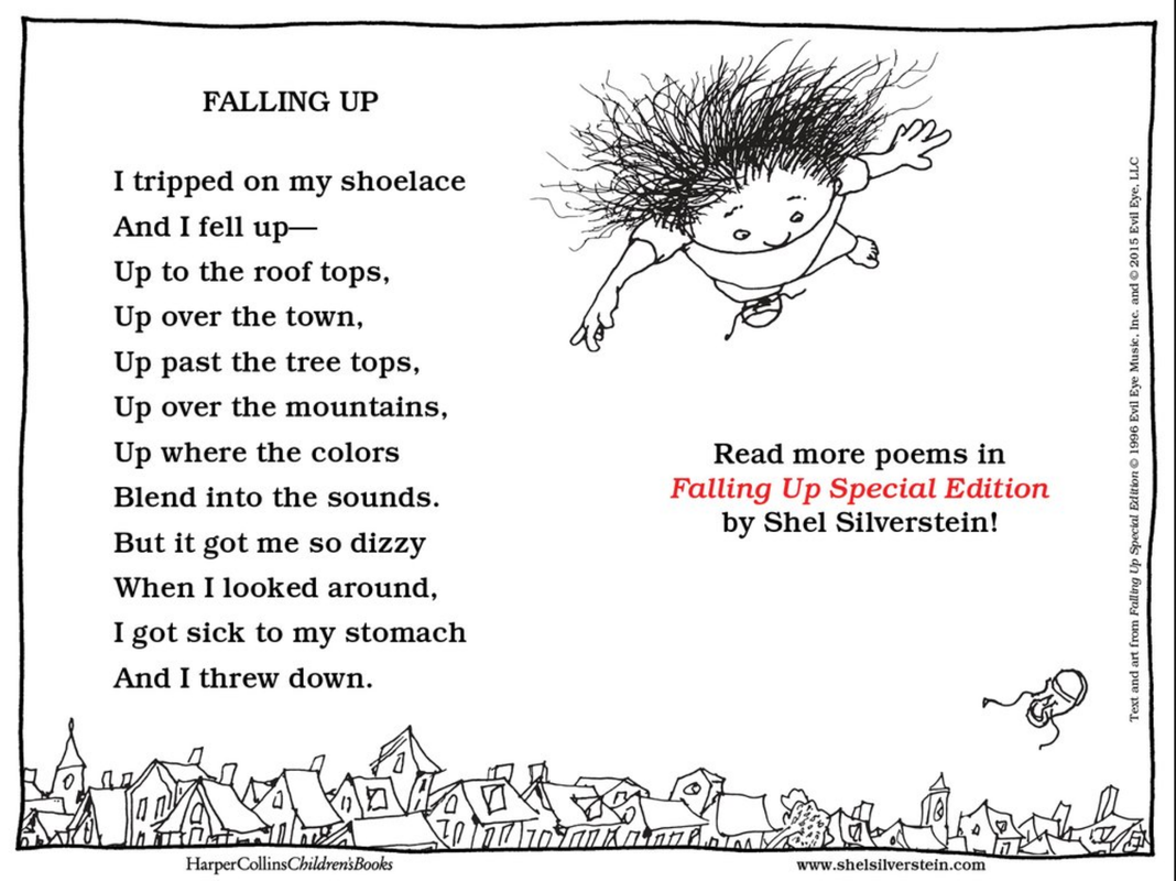 Shel Silverstein Famous Poems: Poetry